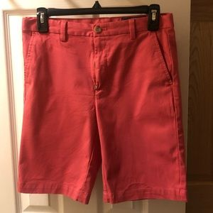 Boys Vineyard Vines Salmon Shorts / Size 14